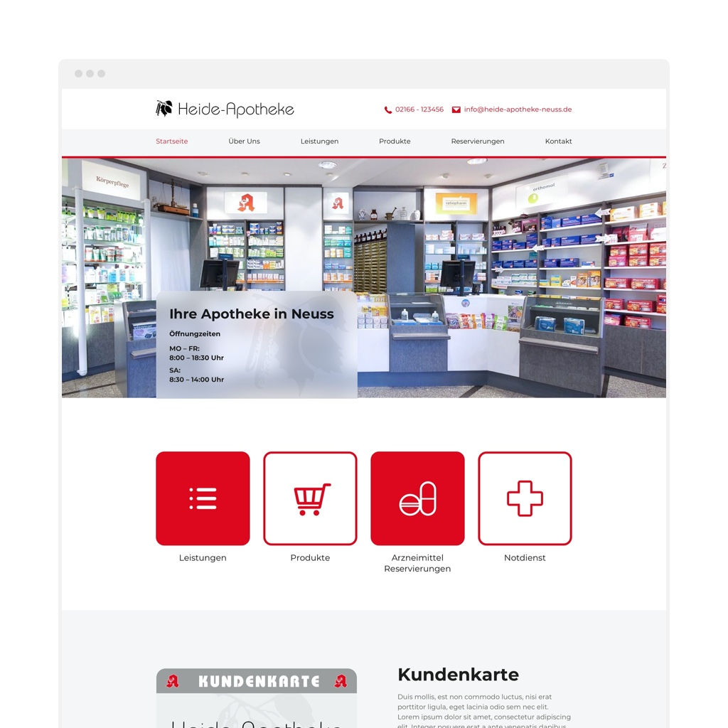 apotheken website heide apotheke neuss